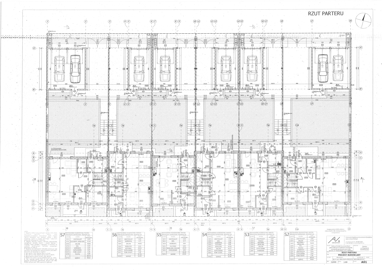 Projekt budowlany parter