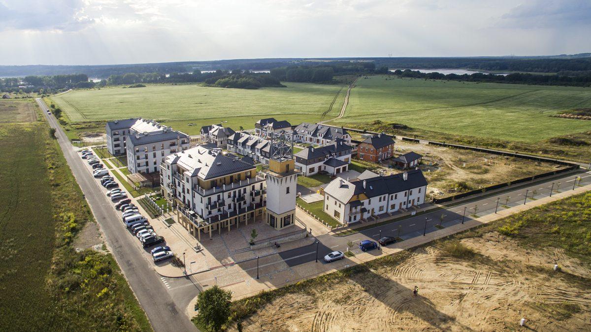 osiedle Siewierz Jeziorna domy jednorodzinne ISOMEG