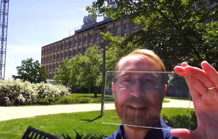 nowe technologie - szyby solarne